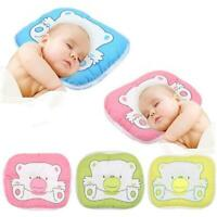 Bear Pattern Pillow Newborn Infant Baby Support Cushion Pad Prevent Head Nice