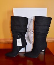 Jessica Simpson Womens Lyndy Pointed Toe Mid-Calf Fashion Black Sz 10 MSRP $129