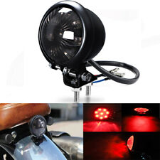 Motorcycle Tail Light LED Rear Brake Lamp for Bobber Cruiser Cafe Racer Chooper