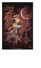 ALCHEMY GOTHIC ~ CUSP OF BATHORY 24x36 FANTASY ART POSTER Gargoyle NEW/ROLLED!