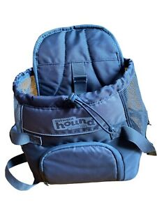 Outward Hound Poochpouch Front Carrier Dog Pet 0-10 lbs Travel Gray