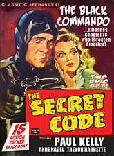THE SECRET CODE - Old time serial, two disc set DVD