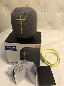 UE Ultimate Ears Wonderboom Portable Bluetooth Wireless Speaker IPX7 - Grey