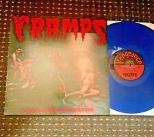 The Cramps – RockinnReelininAucklandNewZealandXXX BLUE VINYL REISSUE LP Nr Mint
