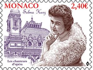 monaco ca 2018 Opera Singer austria Selma Kurz 1874-1933 soprano 1v mnh **