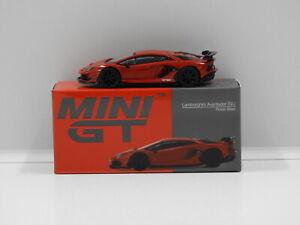 1:64 Lamborghini Aventador SVJ (Rosso Mars) True Scale Miniatures MGT00198-R