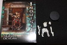 Games Workshop inquisidor 54mm Slick devlan Nuevo en Caja De Metal Figura en caja Inquisición
