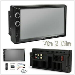 7In 2 Din HD Touch Screen Car Bluetooth MP5 Player FM Radio Stereo USB/TF AUX