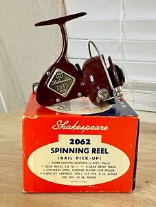 Vintage Shakespeare 2062 NL-2 Model EF Spinning Reel in Original Box