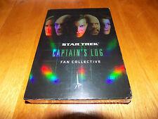 STAR TREK CAPTAIN'S LOG Fan Collective 5Disc Voyager Next Generation DVD SET NEW
