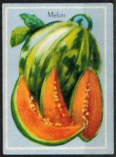 Carte Chromo - Image - Melon - Fruits - Réf.177