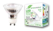 Greenandco LED spot cri90+ flimmerfrei gu10 7 vatios 510 lumen neutral blanco 4000k