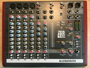 Allen & Heath ZED-10 10 Input Mixer & Audio Interface
