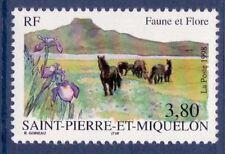 STAMP / TIMBRE SAINT PIERRE ET MIQUELON NEUF N° 671 FAUNE ET FLORE