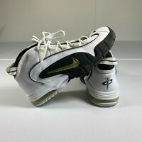 Nike Air Max Penny 1 Shoes Mens Size 13 White Black Casual Sneakers OG Rare One