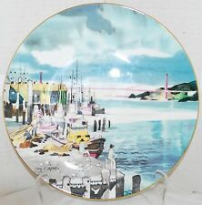Royal Doulton Fisherman's Wharf San Francisco Plate Dong Kingman Limited Edition