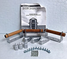 New Brinkmann Smoke 'N Grill Electric Smoker Kit Support Brackets Handles Screws