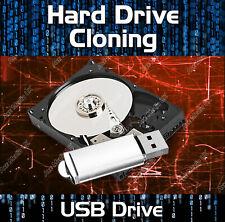 COPY HARD DRIVE CLONE DISK IMAGE BACK UP DUPLICATING SOFTWARE WINDOWS USB DRIVE