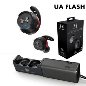 JBL Under Armour Project Rock True Wireless Flash Earbuds Headphones Earphones