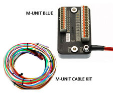 Motogadget M-Unit Blue Motorcycle Switch Control Center and Cable Kit Combo