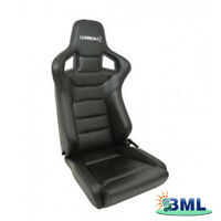 LAND ROVER DEFENDER CORBEAU SPORTLINE RRS LOW BASE PAIR SEAT  (VINYL). DA7310