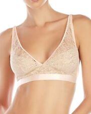 Mimi Holliday Toffee Dazzler XS X-Small Lace Bralette Wire Free Bra Ivory Silk