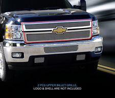 Fits 2011-2014 Chevy Silverado 2500/3500 Billet Grille Grill Insert