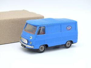 Norev Plastique 1/43 - Peugeot J7 STP Bleue N°7