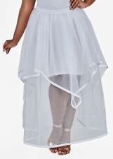 OMG WOW! nwt ASHLEY STEWART WEDDING BRIDAL ORGANZA SKIRT 20w