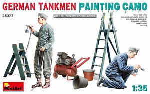Miniart 1/35 German Tankmen Painting Camo # 35327