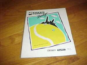 1991 Chicago Volvo Tennis Program