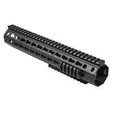 "Ncstar Vmarkmr Drop In Battle Rail Rifle Length Keymod Handguard System 12"""