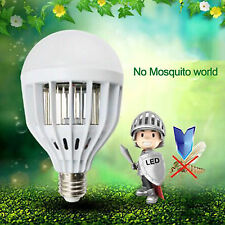 LED Anti-Mosquito Bulb II 18W 1000LM Electronic Insect Zappers Lure Kill Light