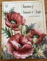 Inspirations of Watercolor & Acrylic Doris Crusenberry Decorative Painting Book