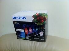 Philips 15ct Color Changing Smooth C-Bulbs Led with Remote - 7 Lighting Effects
