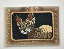 2020 Goodwin Champions Cat Collection Patches #Fc-18 Peterbald