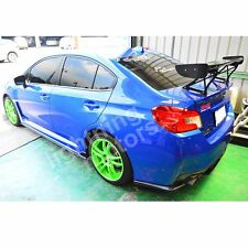 Mattle black for SUBARU WRX STI Sedan 2012~2016 V Style Rear Trunk Spoiler Wing