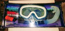 Voit Swimaster Silicone Pro Dive Combo Silicone Professional Snorkle Dive Mask