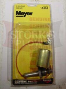 15697 Meyer Plow Pump B Solenoid Coil and Valve Assembly E47 E57 E60 Diamond