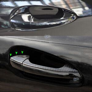 Für Mercedes Benz W212 W166 W246 W204 Carbon Türgriffe Griff  Rahmen Abdeckung