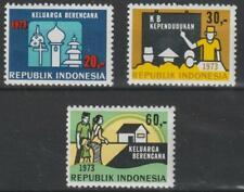 Indonesia 1973 Scott #856-58 Family Planning - MNH