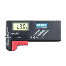 Universal AA/AAA/C/D/9V/1.5V Digital Button Cell Battery Volt Tester Checker