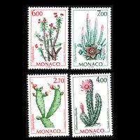 Monaco 1998 -  Cacti Plants - Sc 2086/9 MNH