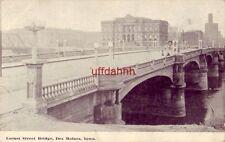 Locust Street Bridge, Des Moines, Ia 1910