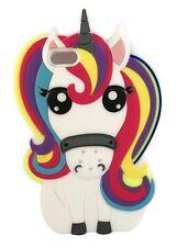 IPHONE 4 RAINBOW 3D UNICORN Horse Pony Silicone Phone Case Cover iPhone 4 / 4S
