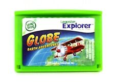 Globe Earth Adventures Leap Frog Leapster Explorer Cartridge Learning Game