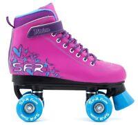 SFR Kids Vision II Quad Roller Skates - Pink / Blue - Free Delivery*