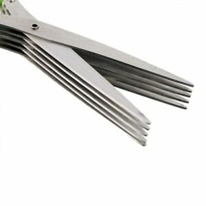 Kitchen Scissor Shredded Cook Tool Cut Chopped Scallion Cutter Herb Laver Spices