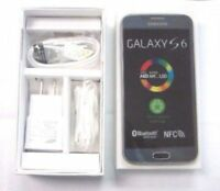 NEW INBOX Samsung Galaxy S6 SM-G920V-32GB- Black Sapphire Verizon+GSM UNLOCKED