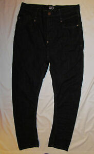 MEN'S WILLIAM RAST SLOUCH dark wash relaxed skinny slouch jeans 32 nwot  *